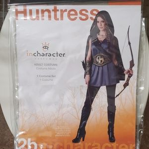 in character costumes